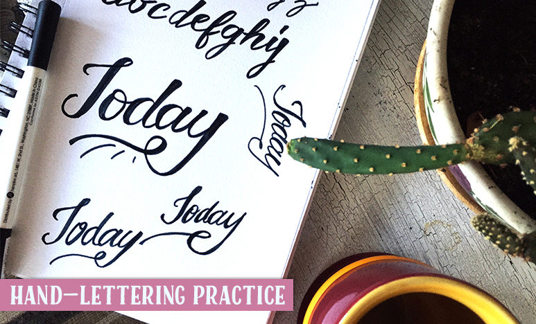 Hand-Lettering Practice